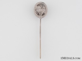 German Horse Driver's Badge Stickpin