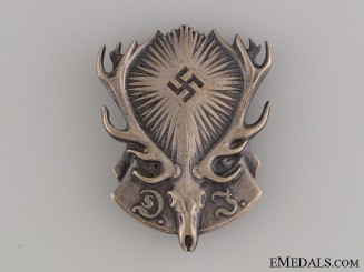 German Hunting Association Membership Pin