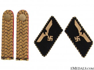 German Railway Shoulder Boards & Collar Tabs