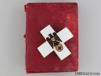German Red Cross Merit Cross 1937-39