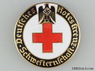 German Red Cross Brooch; Schwesternschaft 2nd Type