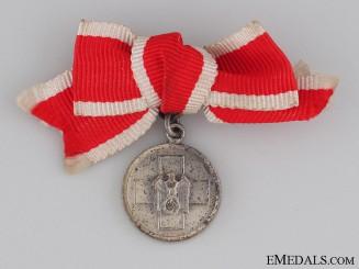 German Social Welfare Medal, Women's Miniature