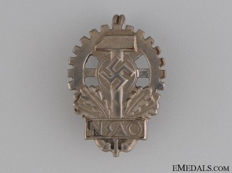 German Victims of Industrial Accidents Badge