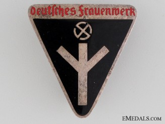 German Women's Work Membership Badge