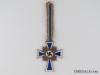Germany (Third Reich). Mother's Cross, Bronze Grade