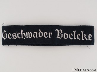 Geschwader Boelcke Officer Cufftitle