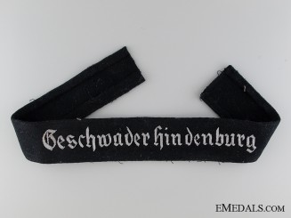 Geschwader Hindenburg Officer's Cufftitle