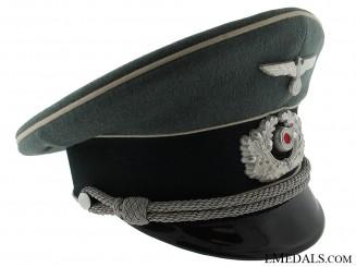 Named Infantry Officers Visor Cap