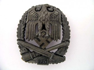 "General Assault Badge ""75"""