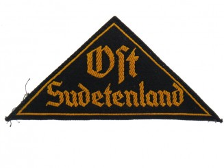Sudetenland Cloth Badge