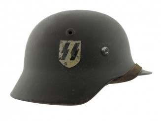 A Scarce 1940 Single Decal SS Helmet
