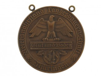 """Blut und Boden"" Table Medal"
