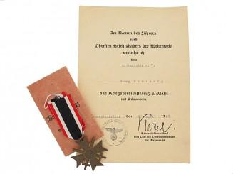 War Merit Cross 2nd. Class w/Swords