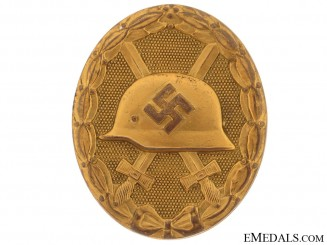 Wound Badge  Gold Grade