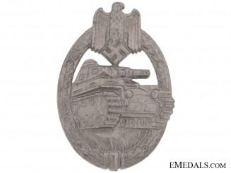 Tank Badge  Silver Grade