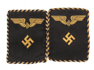 German National Railway Collar Insignia