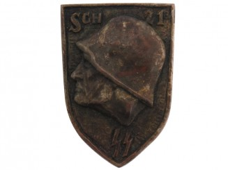 Un-attributed SS Badge