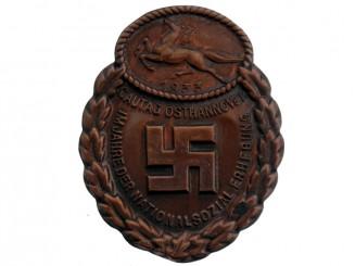 Gau Honor Badge East Hannover