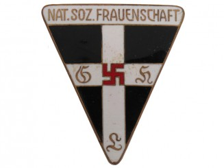 Large N.S. Frauenschaft Badge.