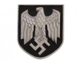 Army Pith Helmet Shield