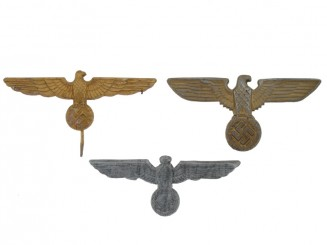 Three Cap eagles