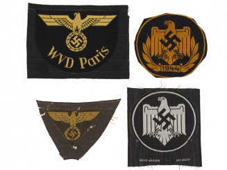Lot of Cloth Insignia