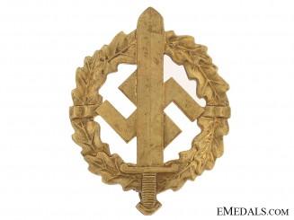 SA Defense Badge  Gold Grade