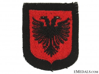 Albanian SS Volunteer Sleeve Shield