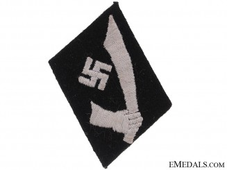 Collar Tab of the 13th. Waffen-SS Mountain Division Handschar