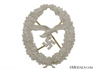 Shield for Luftwaffe Marksmans Lanyard