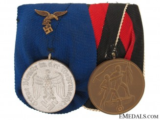 Pair of Long Service Medals