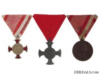 Group of Three Austrian Awards