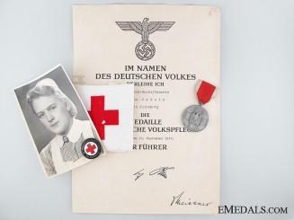 Group to Nursing Sister G. Schulz