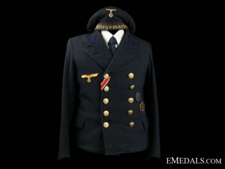 Kriegsmarine Pea Coat & Cap