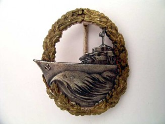 NAVAL DESTROYER BADGE