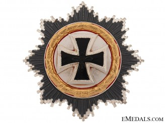 German Cross in Gold