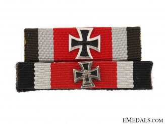 Two Knight's Cross Ribbon Bars