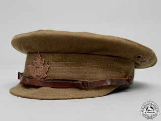 A First War Canadian Trench Cap to the 116th Infantry Battalion