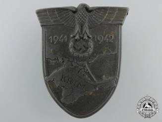 A Worn Krim Campaign Shield
