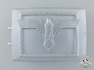 A Rare Student League (Studentenbund) 2nd Pattern Belt Buckle; Published Example