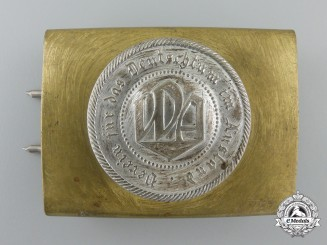 A People's League for the Furtherance of Germanism in Foreign Countries Belt Buckle