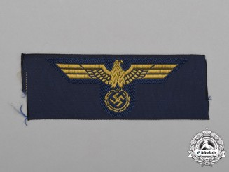 A Mint and Unissued Kriegsmarine (Navy) Cap Eagle