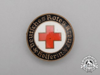 A DRK (German Red Cross) Female Auxiliary Badge
