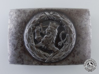 A Pre Second War Finnish Belt Buckle