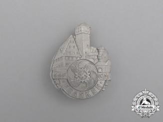 A Third Reich Period KDF (Strength Through Joy) Gau Franken Celebration Badge by Christian Lauer