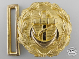 "A Kriegsmarine Line Officer's ""Undress"" Belt Buckle"