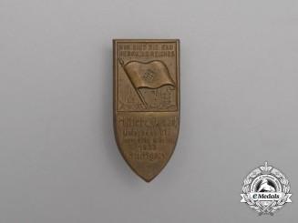 A 1933 HJ Unterbann VII Day of Youths in Stuttgart Badge