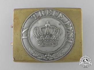 A Pre 1914 Bavarian Belt Buckle c.1880-1890