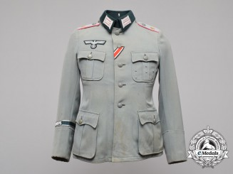 A Heer Officer's School Panzer Leutnant Tunic