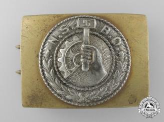 An N.S.B.O. Enlisted Buckle
